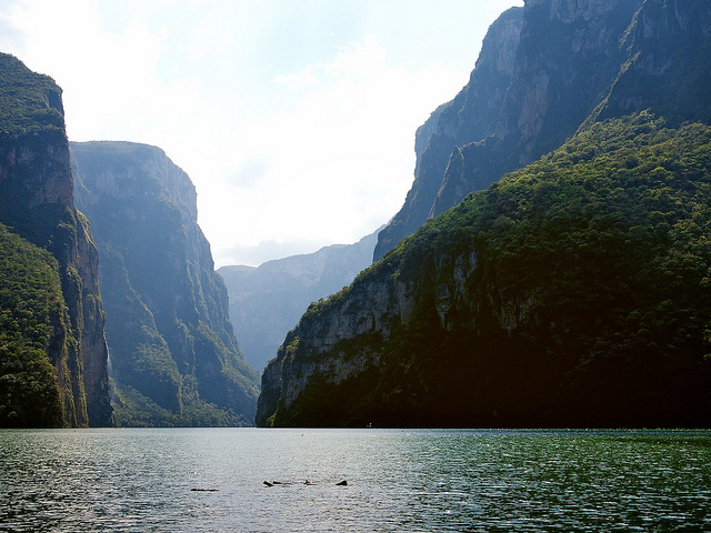 Canyon do Sumidero chiapas